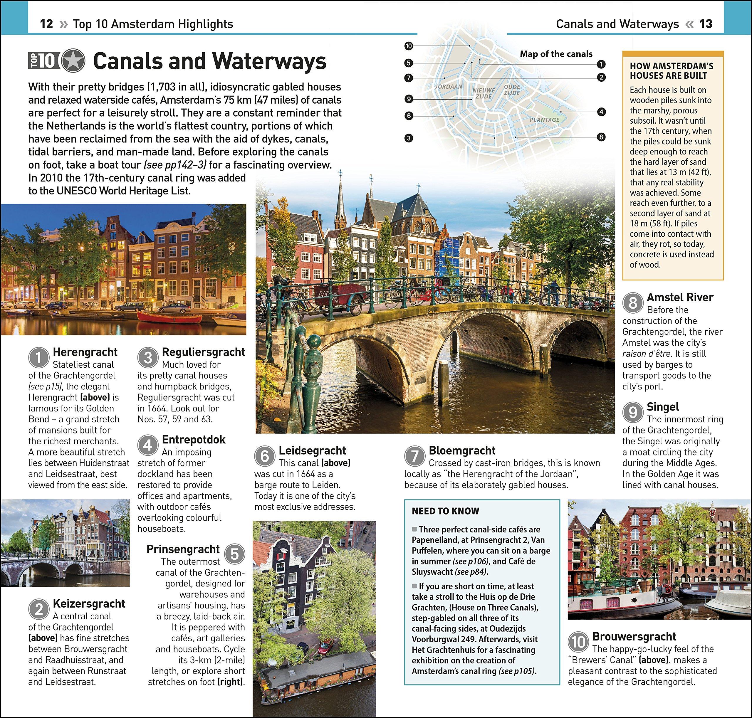 Top 10 Amsterdam (DK Eyewitness Travel Guide): DK Travel (author):  9780241310618: Amazon.com: Books