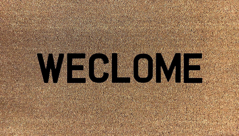 70cm x 40cm WECLOME Printed Internal Coir Mat, Door Mat Stencilled STILL GAME doormatsonline