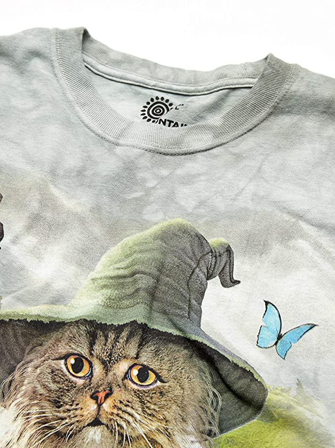 The Mountain Unisex Adult Catdalf Fantasy Pet T Shirt
