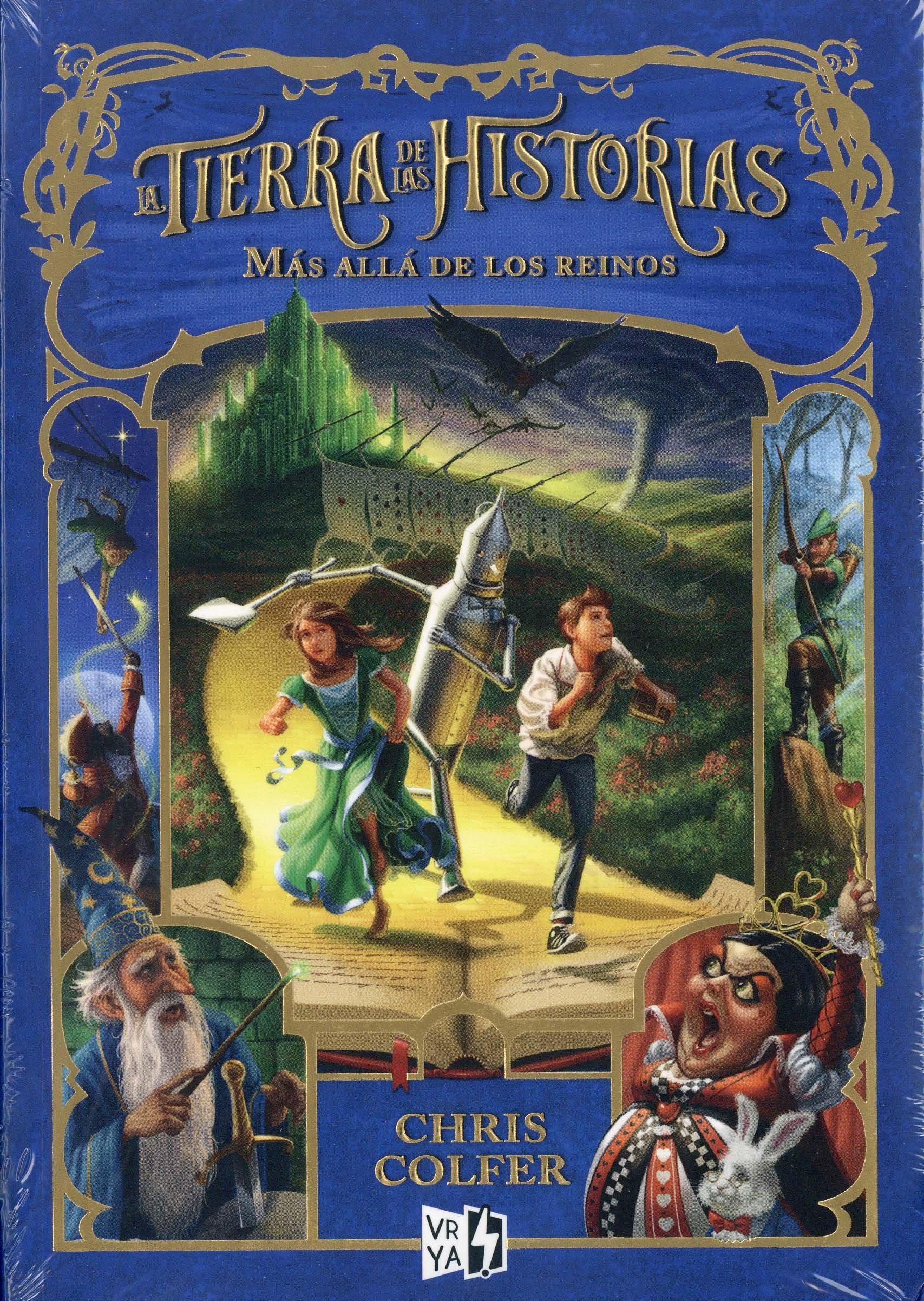 Más Allá de Los Reinos (La Tierra De Las Historias): Amazon.es: Colfer, Chris: Libros