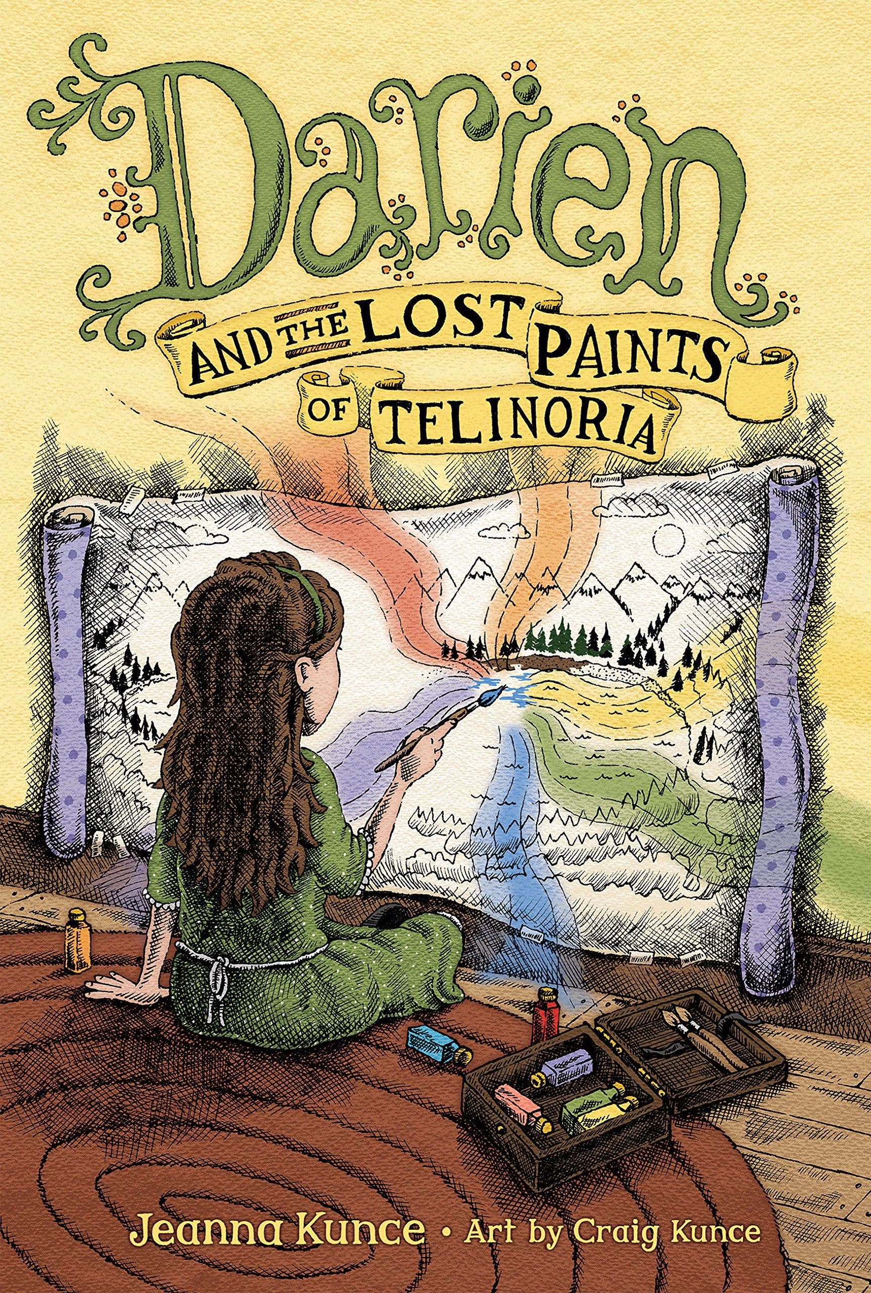 Image result for darien and the lost paints of telinoria