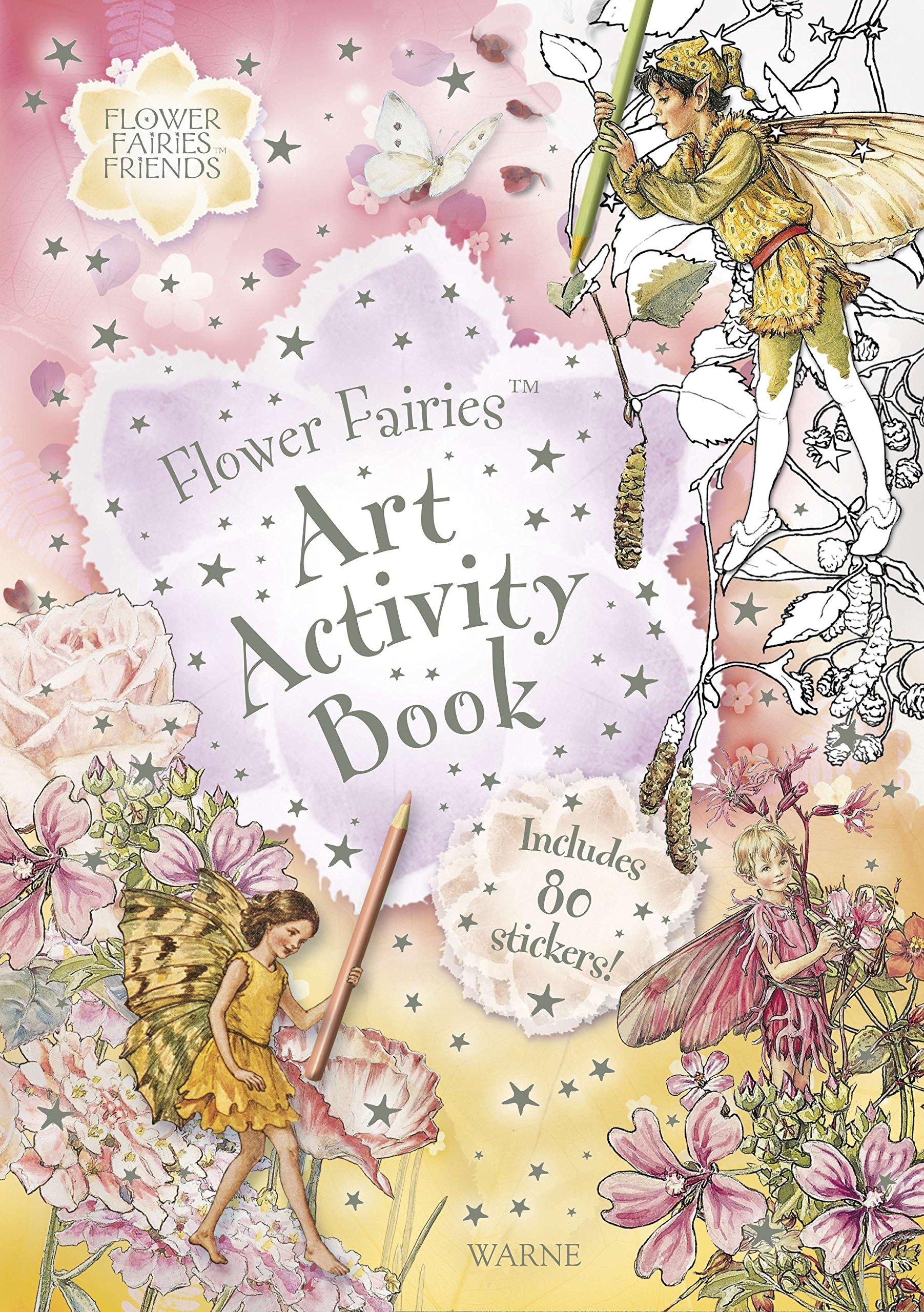 Download Flower Fairies Art Activity Book PDF