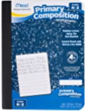 Mead Primary Composition Notebook, Wide Ruled Comp Book, Lined Paper, Grades K-2 Writing Workbook, Dotted Notebook…