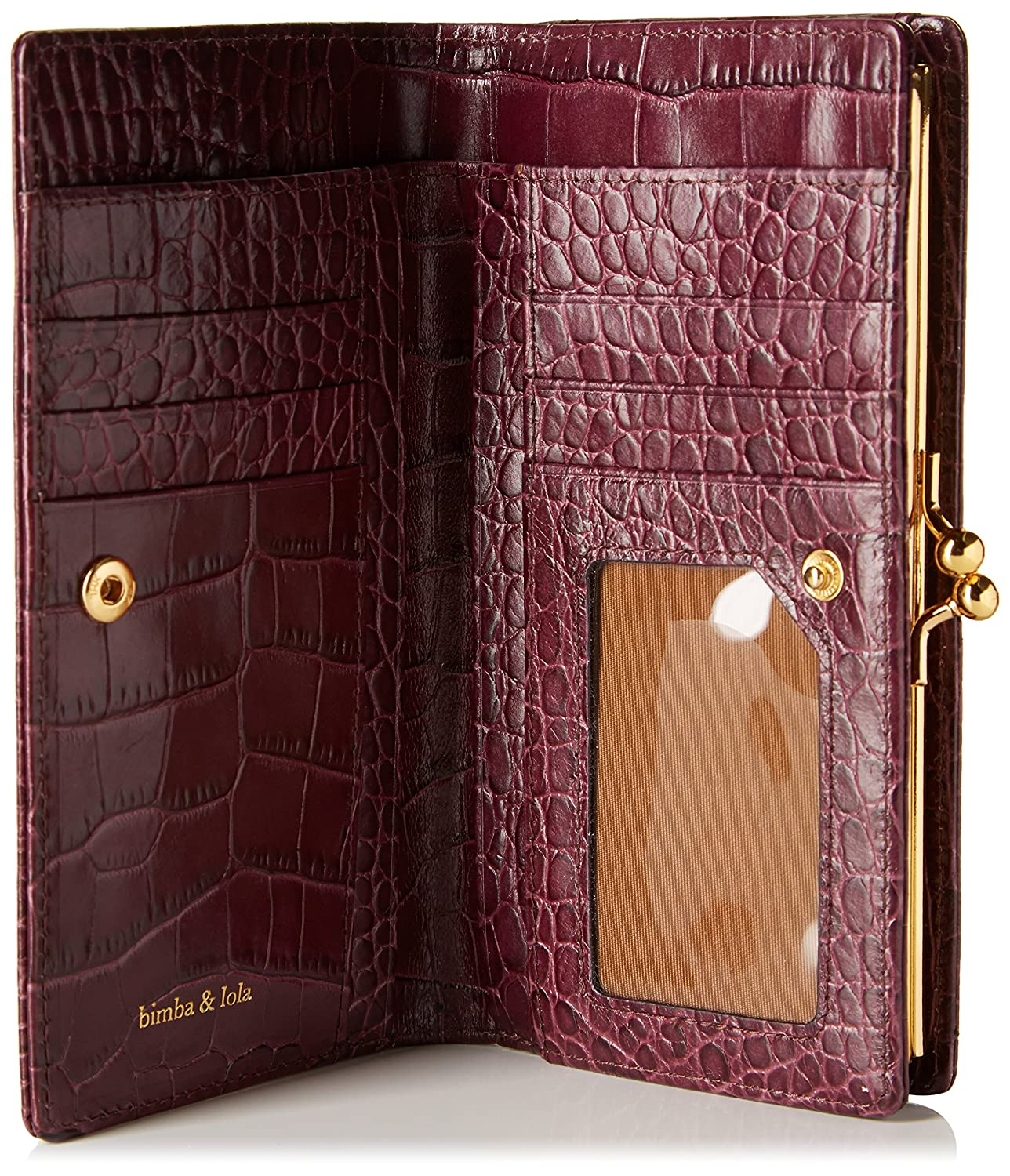 Bimba y Lola - Cartera para mujer, color purpura: Amazon.es ...