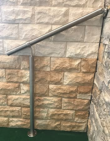 Gelander Edelstahl Aussen Innen Komplett Set Treppengelander