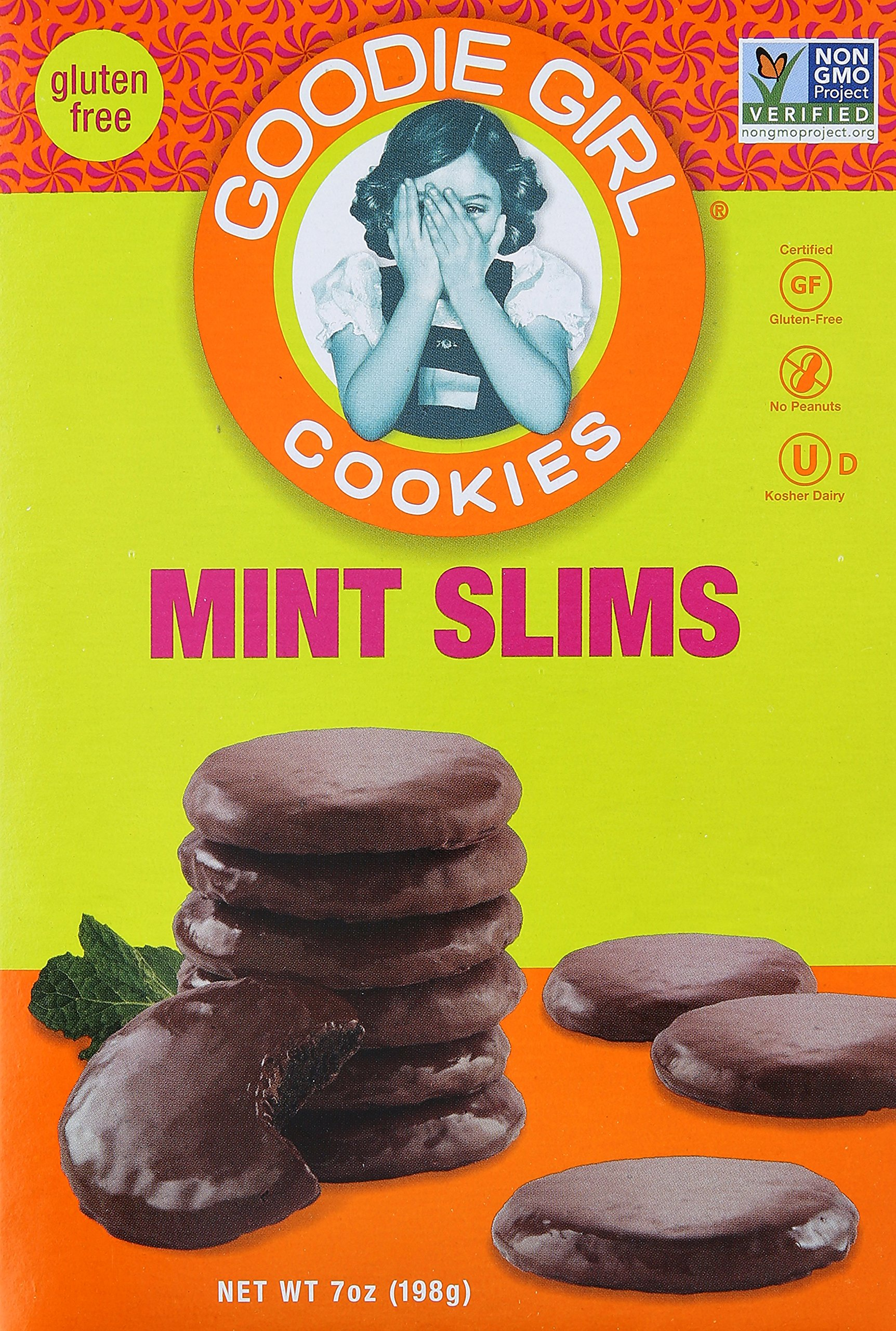 Goodie Girl Cookie Mint Slim, 7 Ounce, 1 Box (Pack of 2) by Goodie Girl