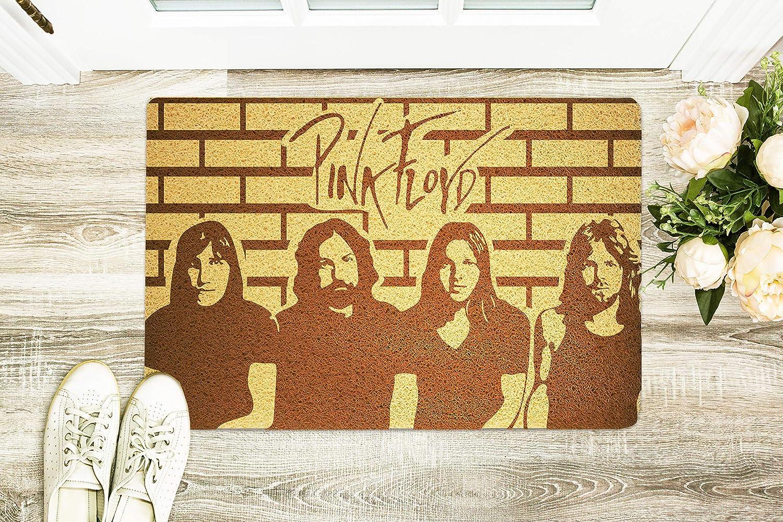 Pink Floyd Doormat Rock Band Doormat Pink Floyd Door Mat Rock Band Door Mat Handmade Gift Design Inside Outside Door Mat New Home Gift Father's Day