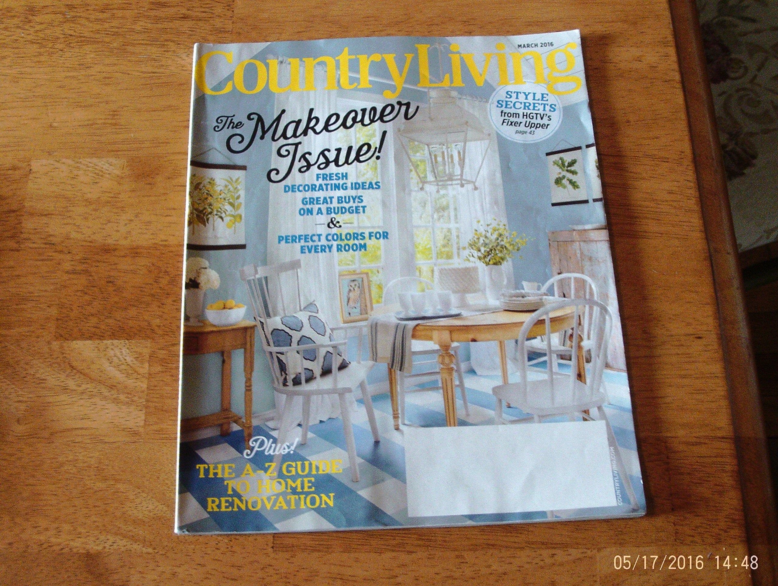 Download Country Living Magazine (March, 2016) pdf epub