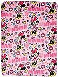 "Disney Minnie Mouse Doodle 40"" x 50"" Travel Blanket"