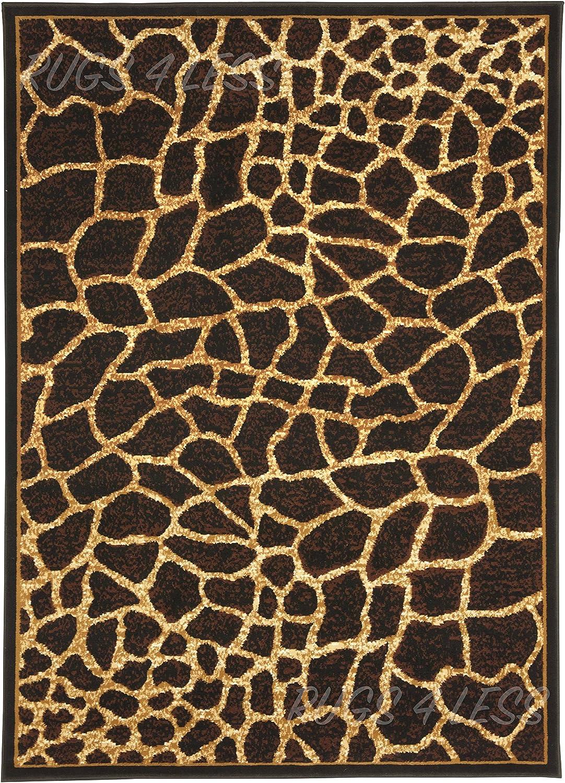 Rugs Carpets Baby Wozo Animal Print Giraffe Spot Area Rug Rugs Non Slip Floor Mat Doormats Living Dining Room Bedroom Dorm 31 X 20 Inches Home Decor