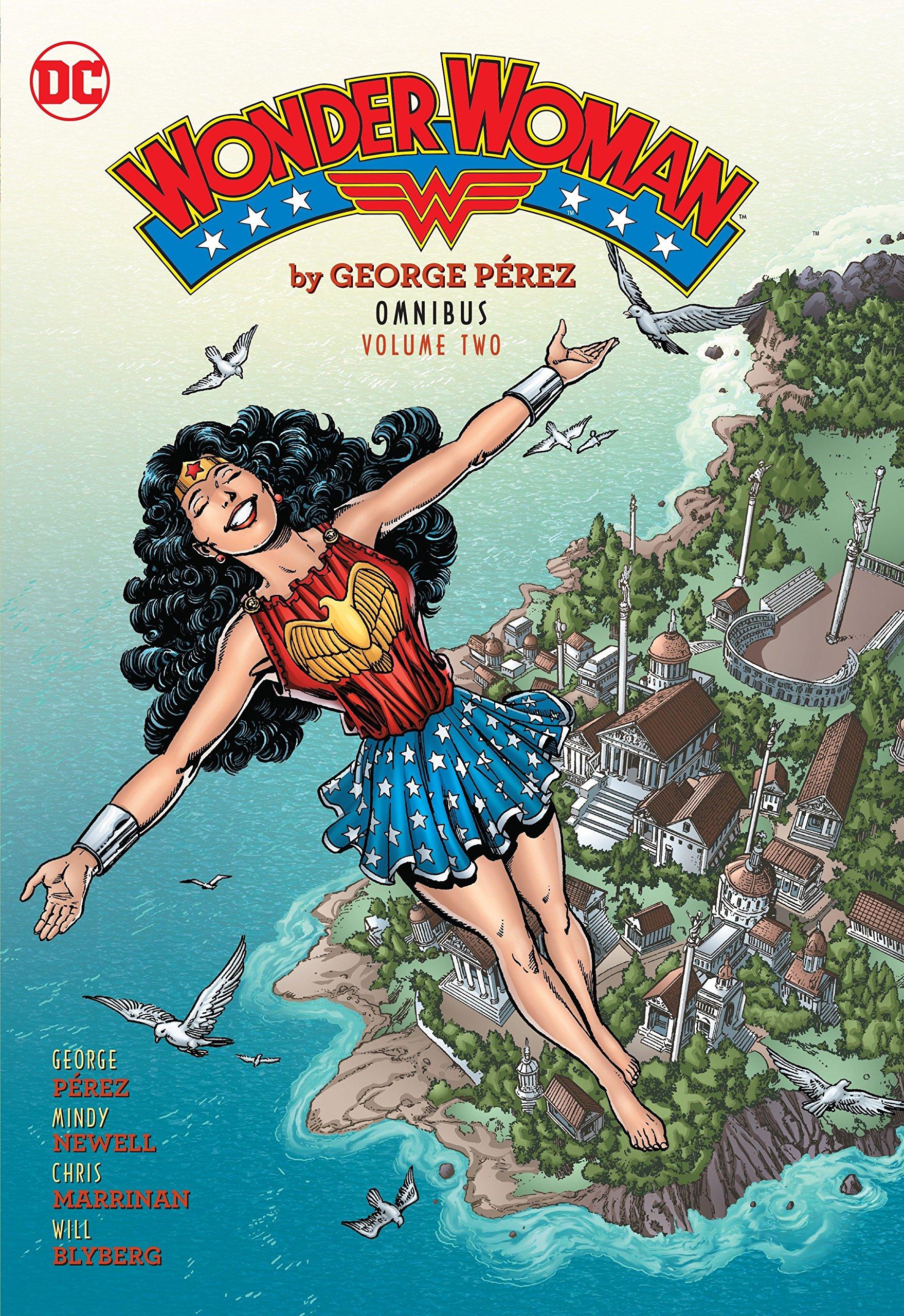 Wonder Woman By George Perez Omnibus Vol. 2 (Wonder Woman Omnibus) by DC Comics