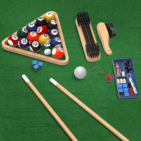 Trademark Gameroom - Juego de accesorios para mesa de billar (32 ...