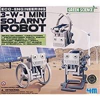 4m 3en 1Eco ingénierie Mini Solaire Robot Jouet