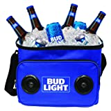 Amazon Price History for:Bud Light Soft Cooler Bluetooth Speaker Portable Travel Cooler with Built in Speakers BudLight Wireless Speaker Cool Ice Pack Cold Beer Stereo for Apple iPhone, Samsung Galaxy