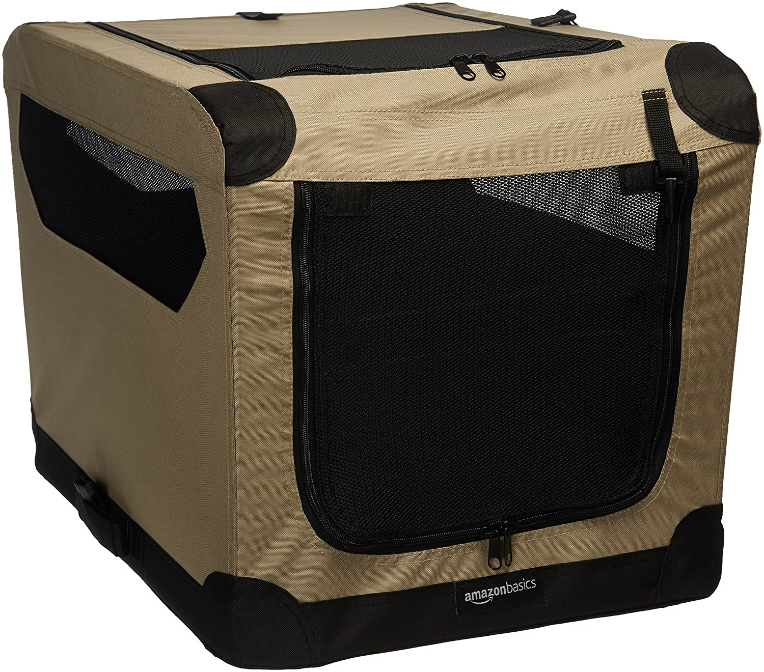 26\ AmazonBasics Folding Soft Dog Crate, 26