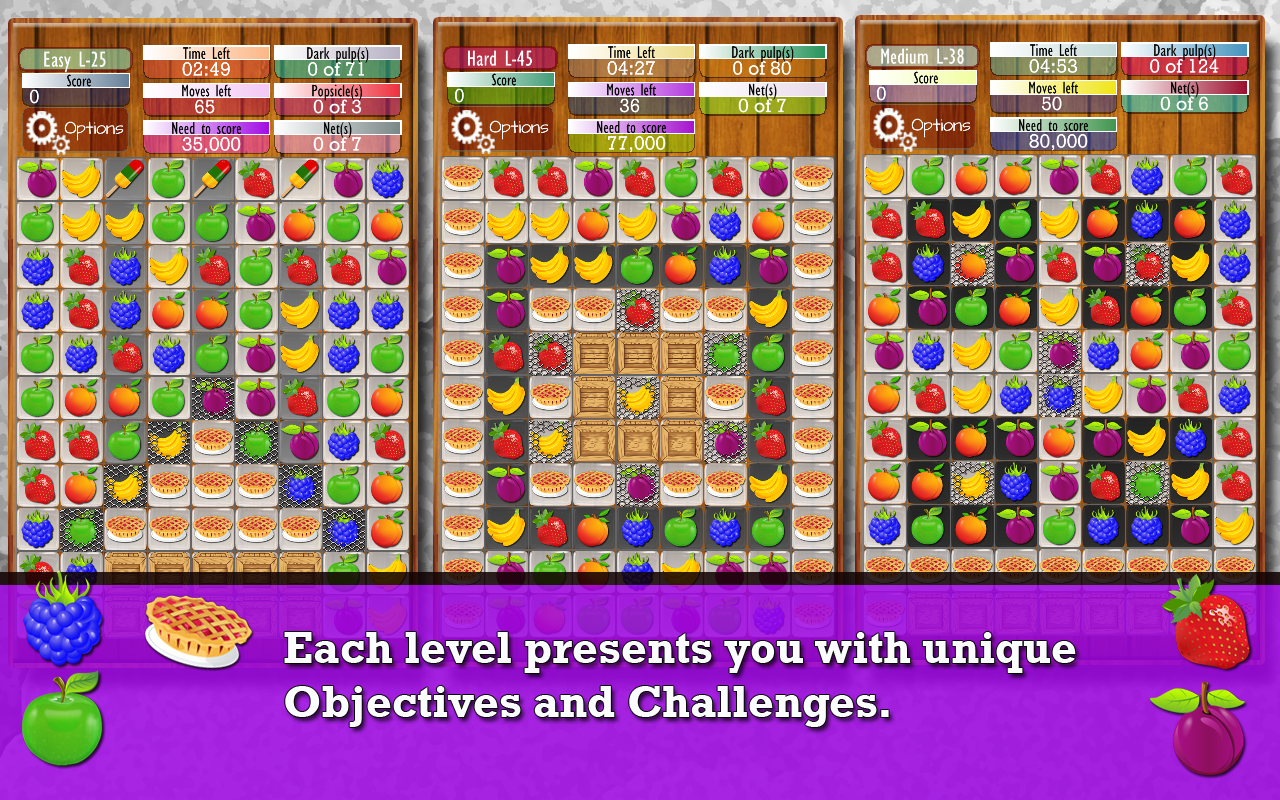 Amazon.com: Fruit Drops Part II - Match Three Puzzle: Appstore for ...
