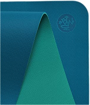 Manduka Welcome Yoga Mat – Premium 5mm Thick Yoga Mat with Alignment Stripe. Reversible, Lightweight with Dense Cushioning for Support and Stability ...