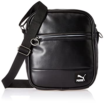 Image Unavailable. Image not available for. Colour  Puma Synthetic 22 cms  Black Messenger Bag ... 20e014ee35123