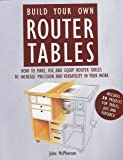Build Your Own Router Tables