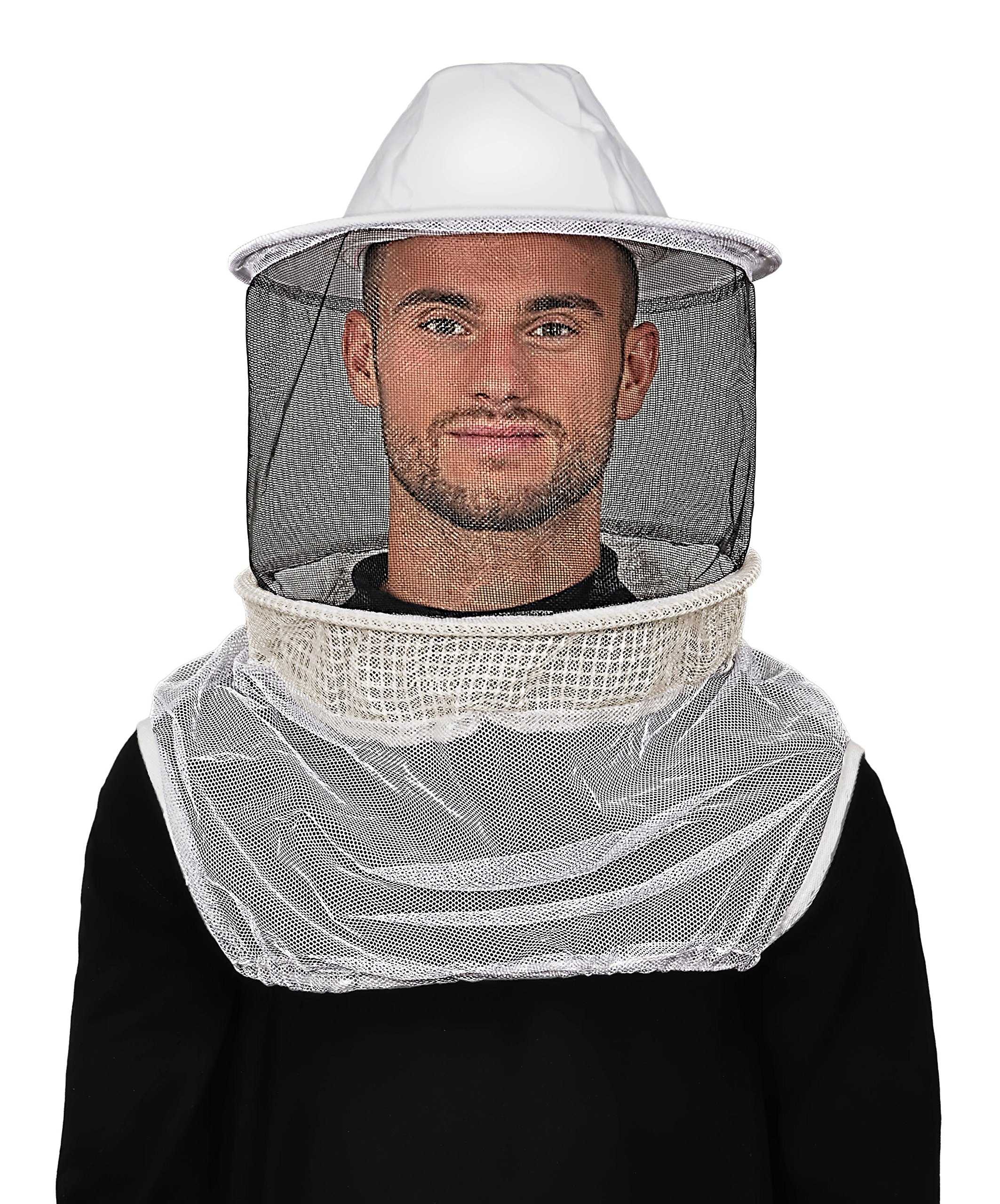 Humble Bee 220-ST Aerated Beekeeping Veil with Round Hat