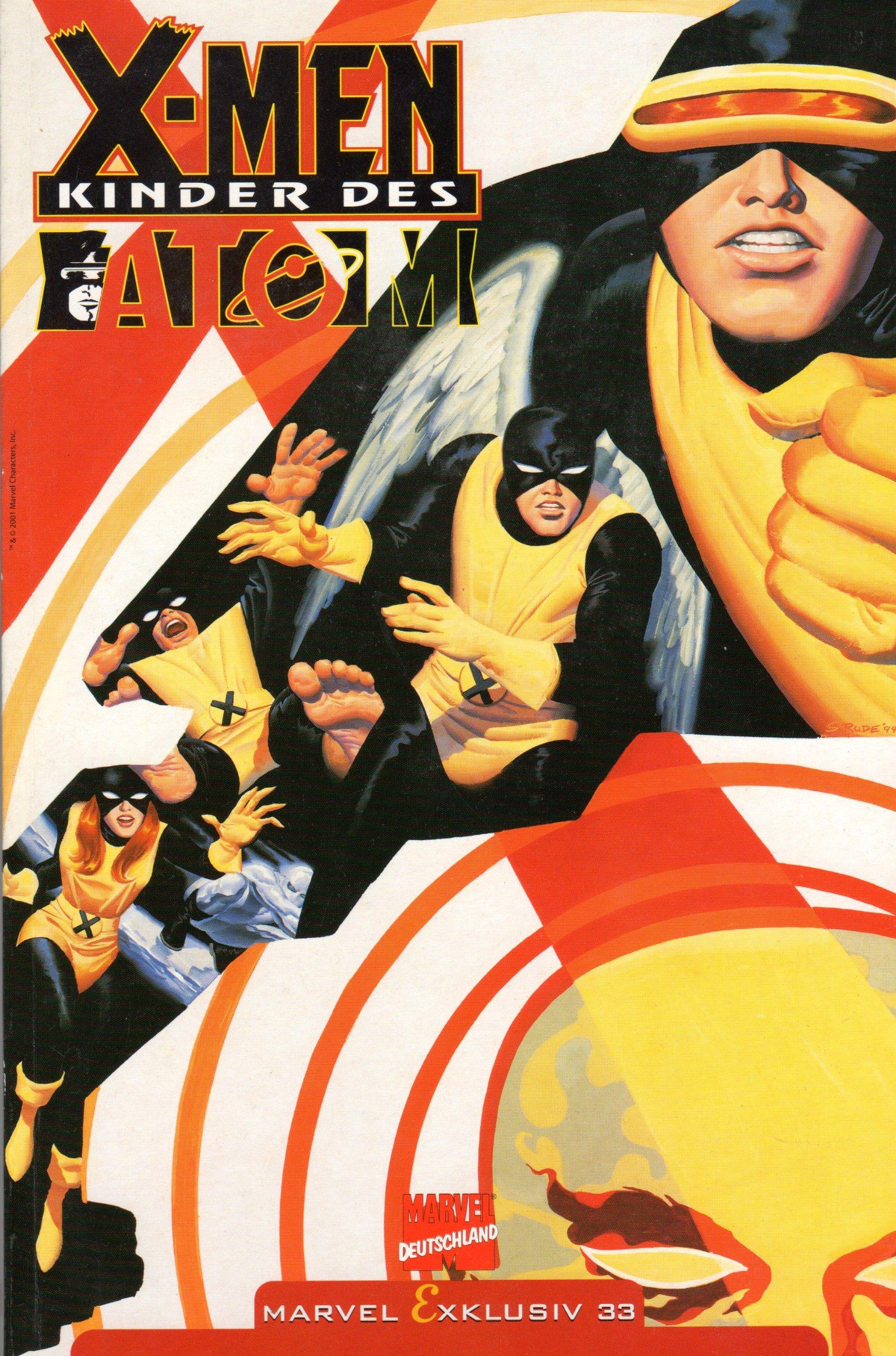 Marvel Exklusiv # 33 - X-Men Kinder des Atoms - Panini (X-Men) Comic – 2001 B004ZPULG4 Belletristik - Comic Cartoon