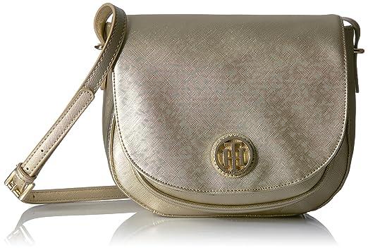 Womens Honey Saddle Bag Shoulder Bag Tommy Hilfiger Ne08582QZ