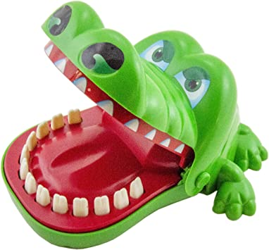 Lovely Mouth Tooth Alligator Classic Biting Hand Crocodile Game for Kids Gifts