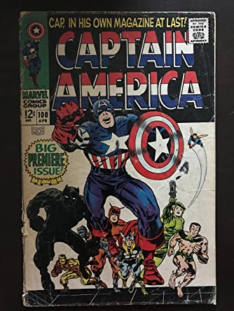 Avengers captain america comic book covers