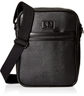 10e6a738b682 Amazon.com  Fred Perry Men s Classic Barrel Bag  Clothing