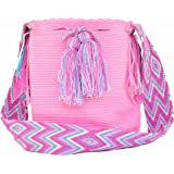 Love & Lucky Wayuu Mochila Bag - Large - Handmade in Colombia by Indigenous Peoples.
