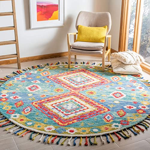 Safavieh Aspen Collection APN119Y Handmade Wool Area Rug