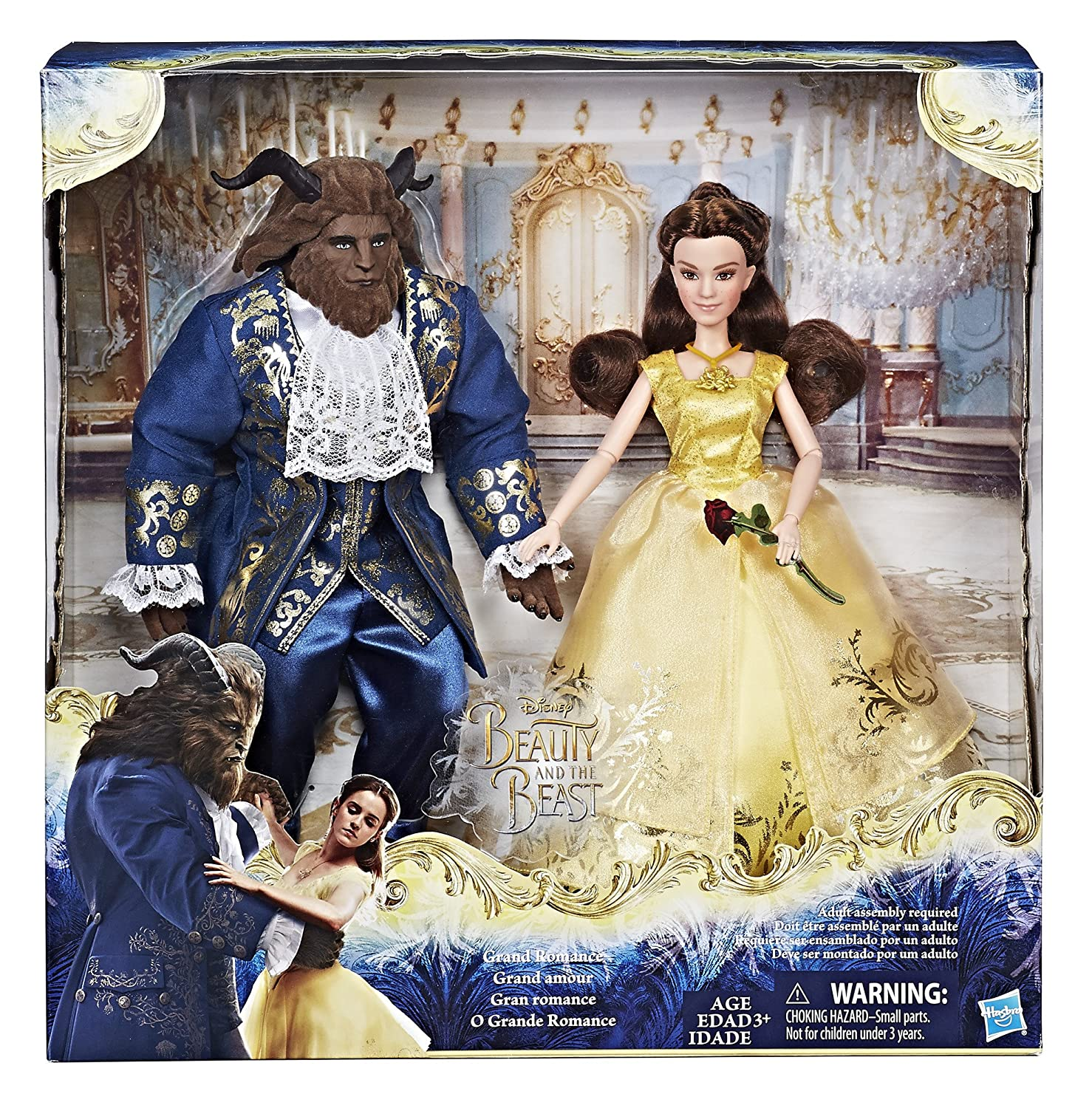 Amazon Disney Beauty And The Beast Grand Romance Doll Set Belle Toys Games