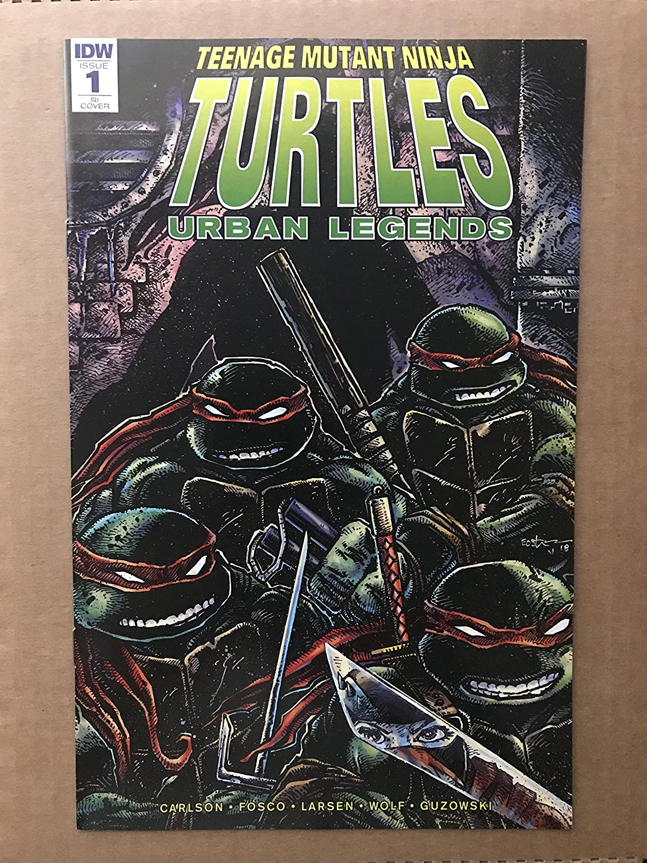 Teenage Mutant Ninja Turtles Urban Legends #1 2018 IDW ...