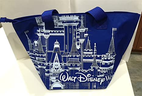 Image Unavailable. Image not available for. Color  Walt Disney World Parks  Large Insulated Castle Tote ... 29c49f87f1a6e