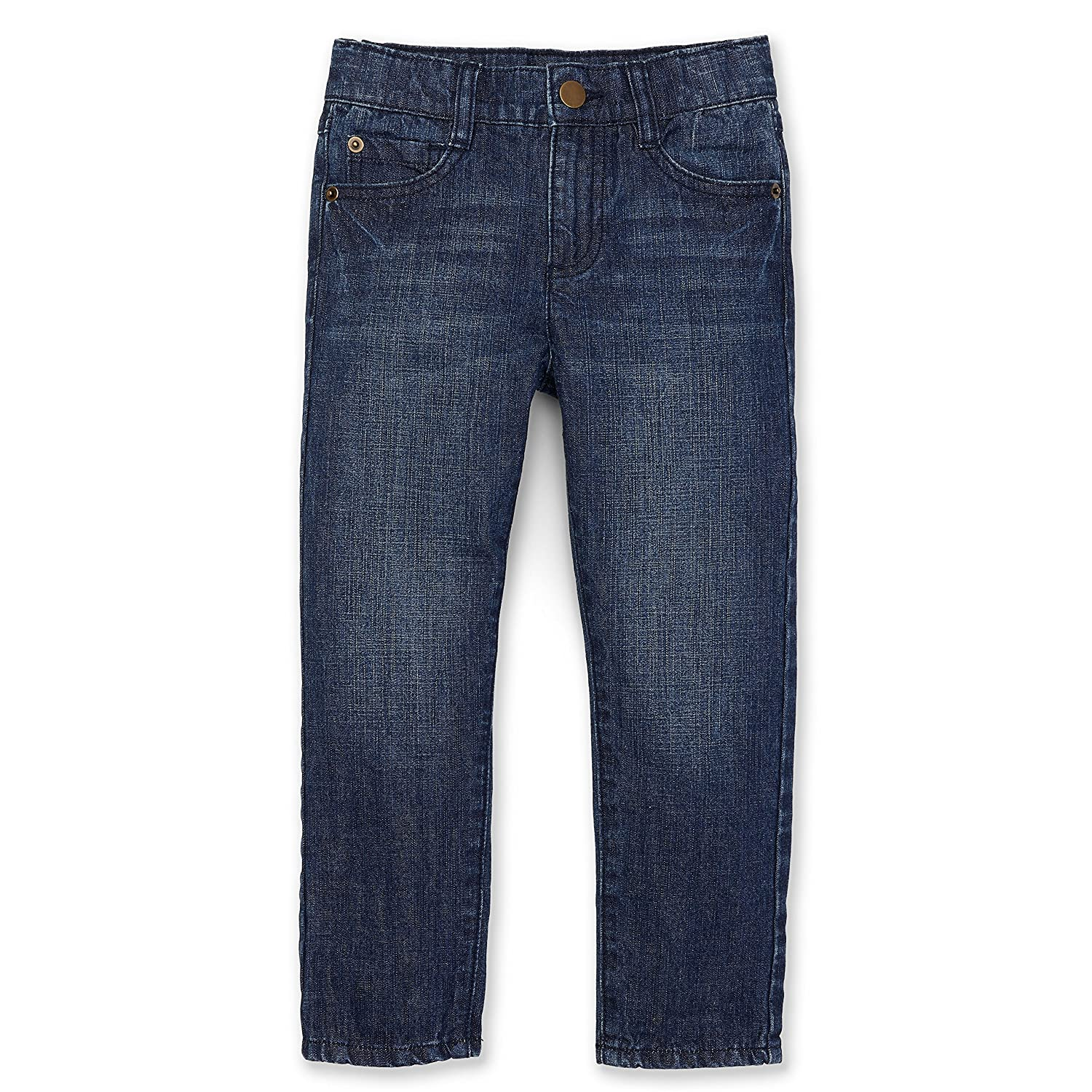 Hope & Henry Boys' Lightweight Denim Jeans Made with Organic Cotton