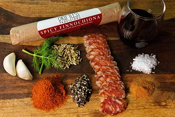 Spicy Finnochiona Salami by Driftless Provisions (2 oz.)