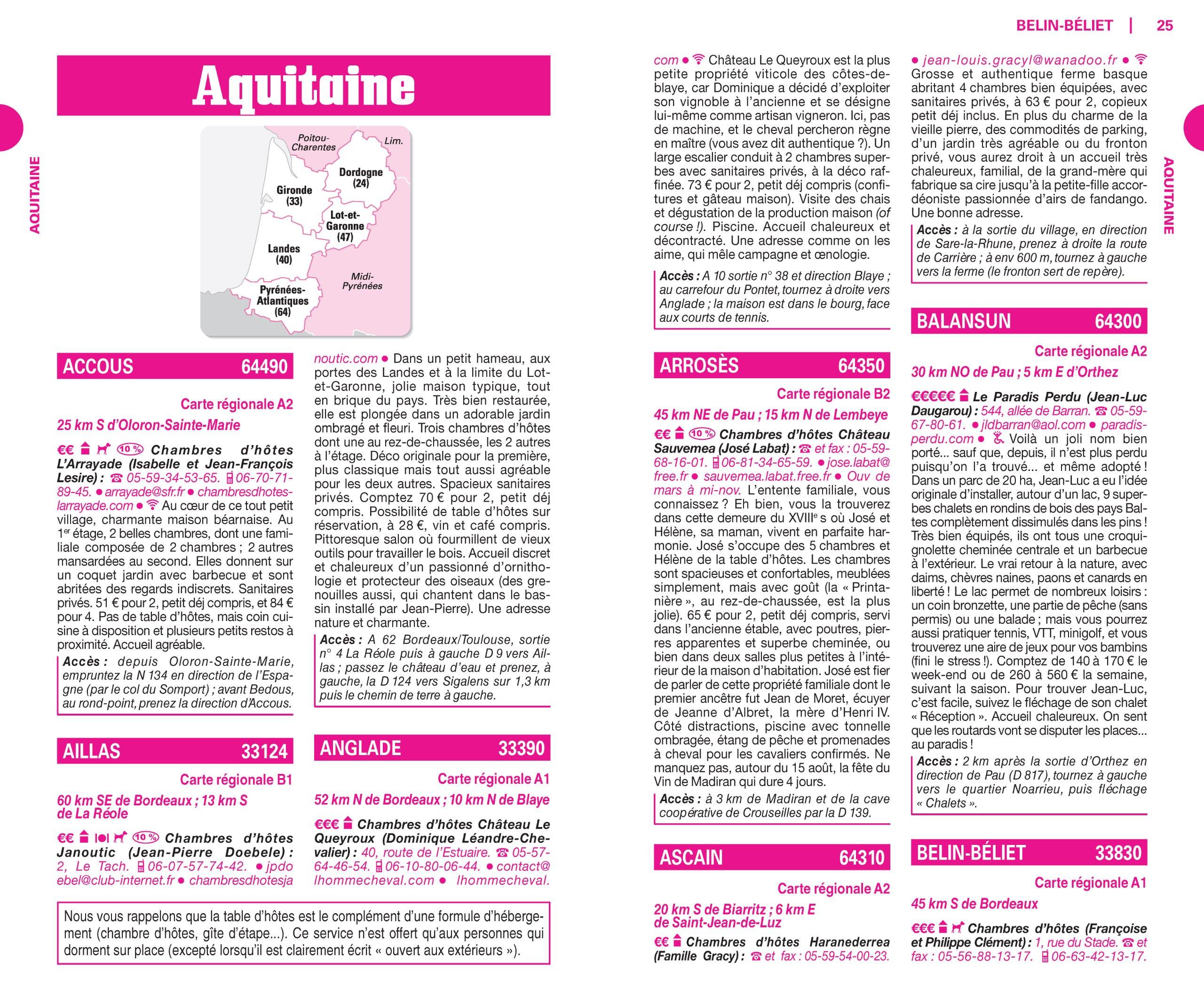 Buy Guide Du Routard France Nos Meilleures Chambres D hotes En