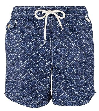 eb2d4a8f63439 Polo Ralph Lauren Men's Indigo Traveler Swim Trunk-A-M | Amazon.com