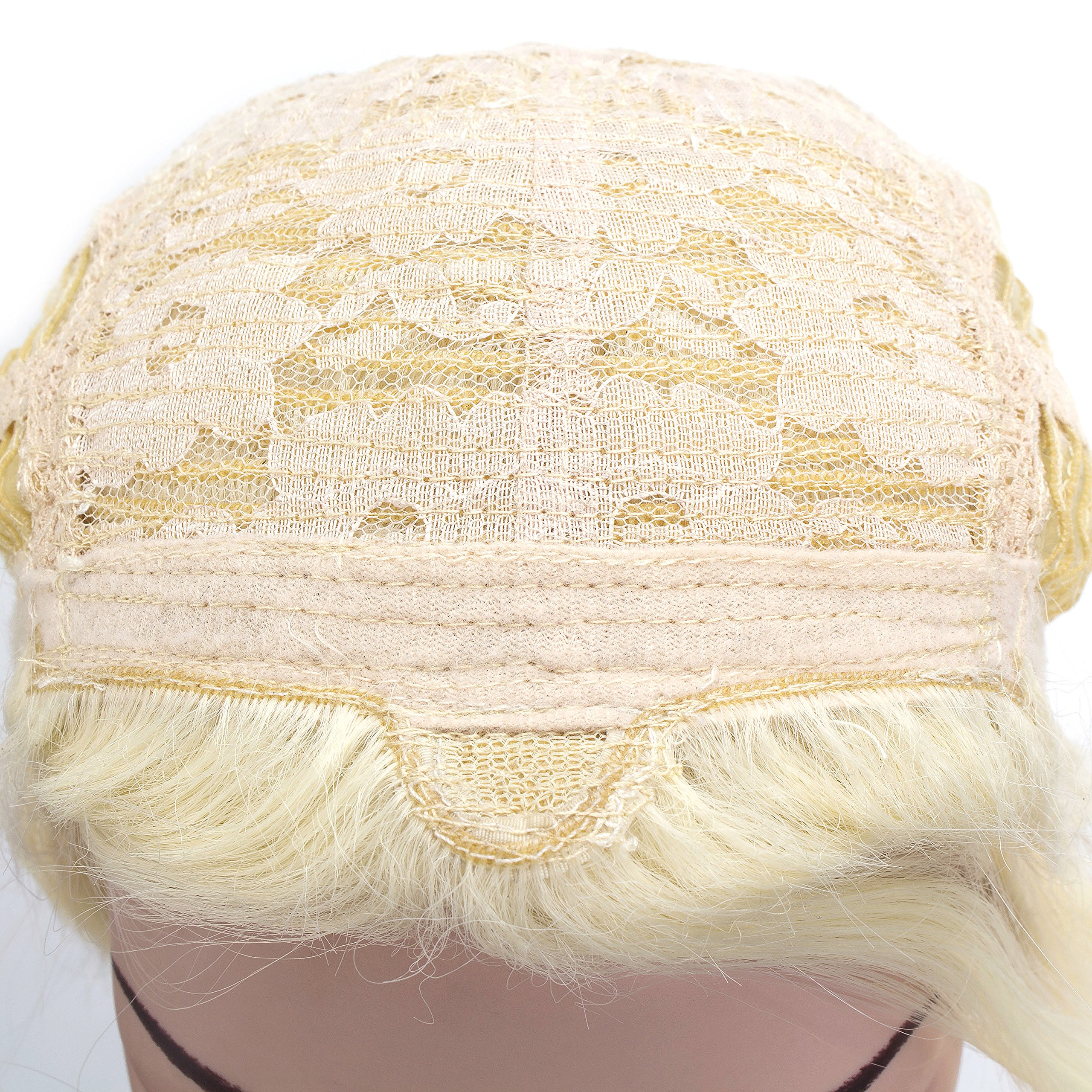 OneDor Long Braided Ponytail Cosplay Costume Light Blonde Wig by Onedor (Image #5)