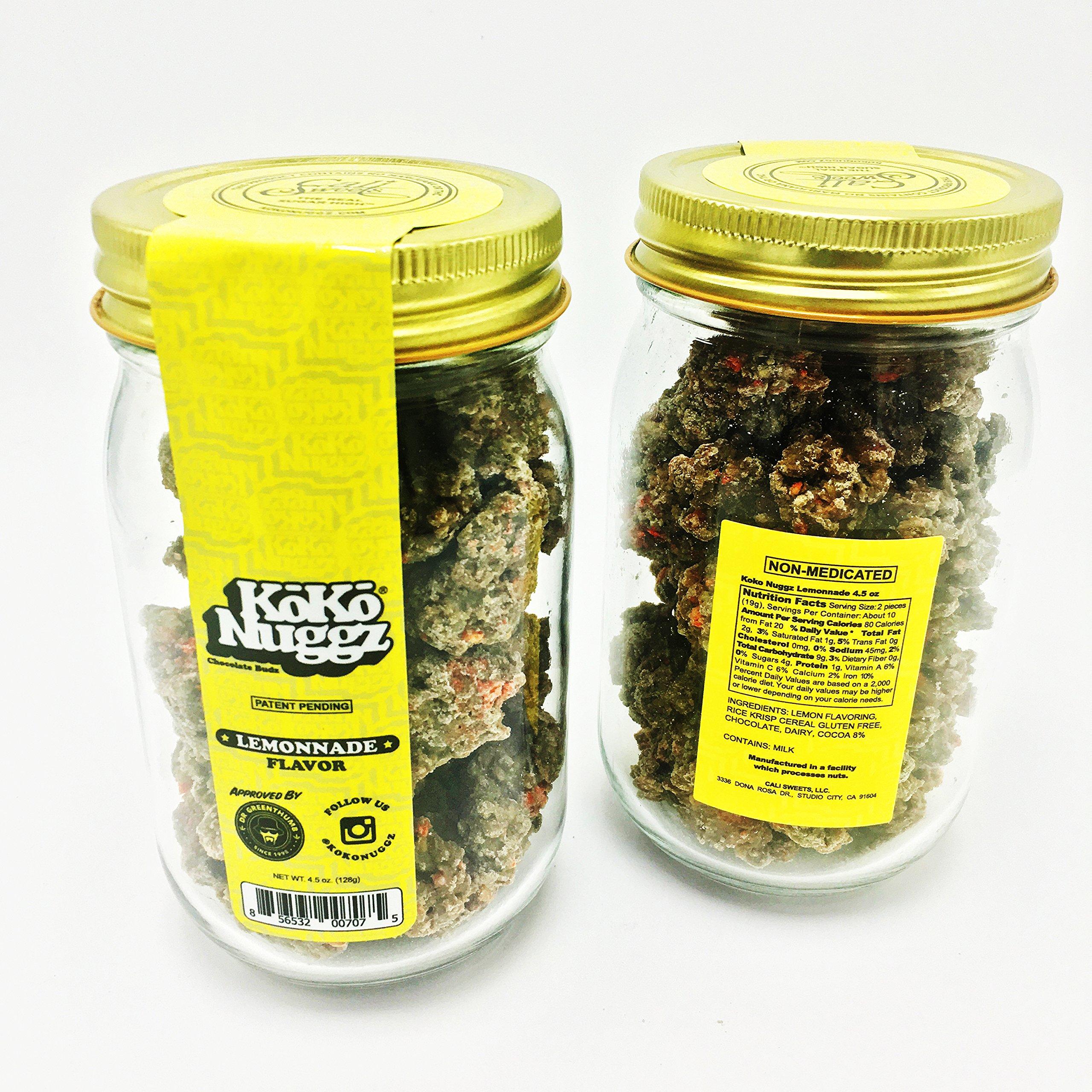 Koko Nuggz Chocolate Non Medicated BIG JAR (15 oz ) (Lemonnade) by Koko Nuggz