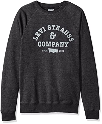 de37c2e905 Amazon.com: Levi's Men's Strand Vintage Crewneck Sweatshirt: Clothing