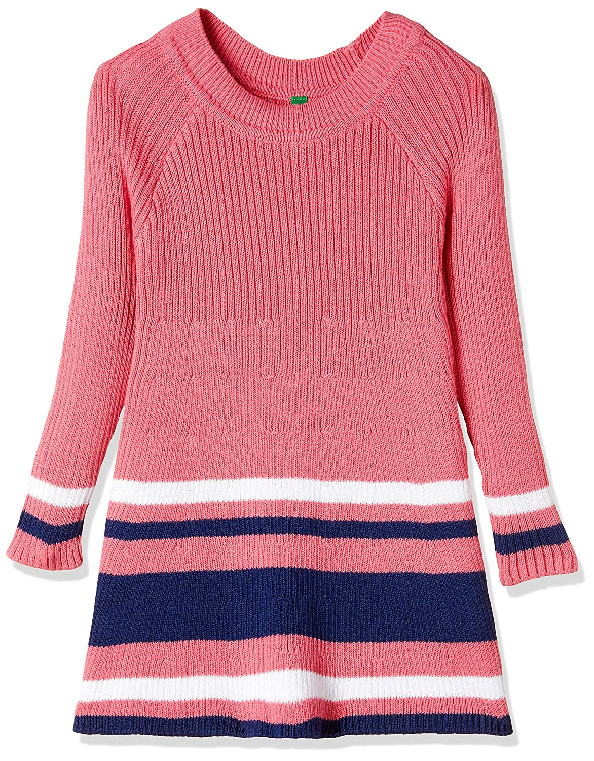 8af3c2027 United Colors Of Benetton Girls  Dress  Amazon.in  Clothing ...