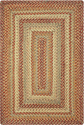 Homespice Decor – 27 x 45 Rect. Balconies and Kitchens Harvest Jute Braided Rug