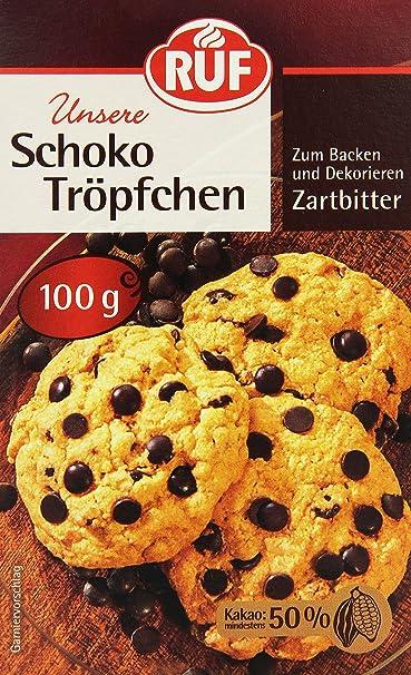 Kochen & Genießen 1kg Schokotropfen Vollmilch Chokolate Chips Für Cookies Muffins 1000g