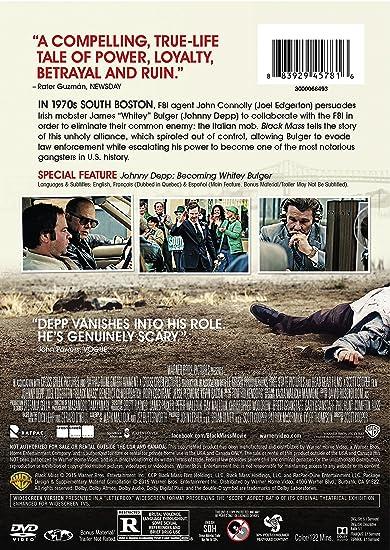 Black Mass [USA] [DVD]: Amazon.es: Depp, Johnny ...