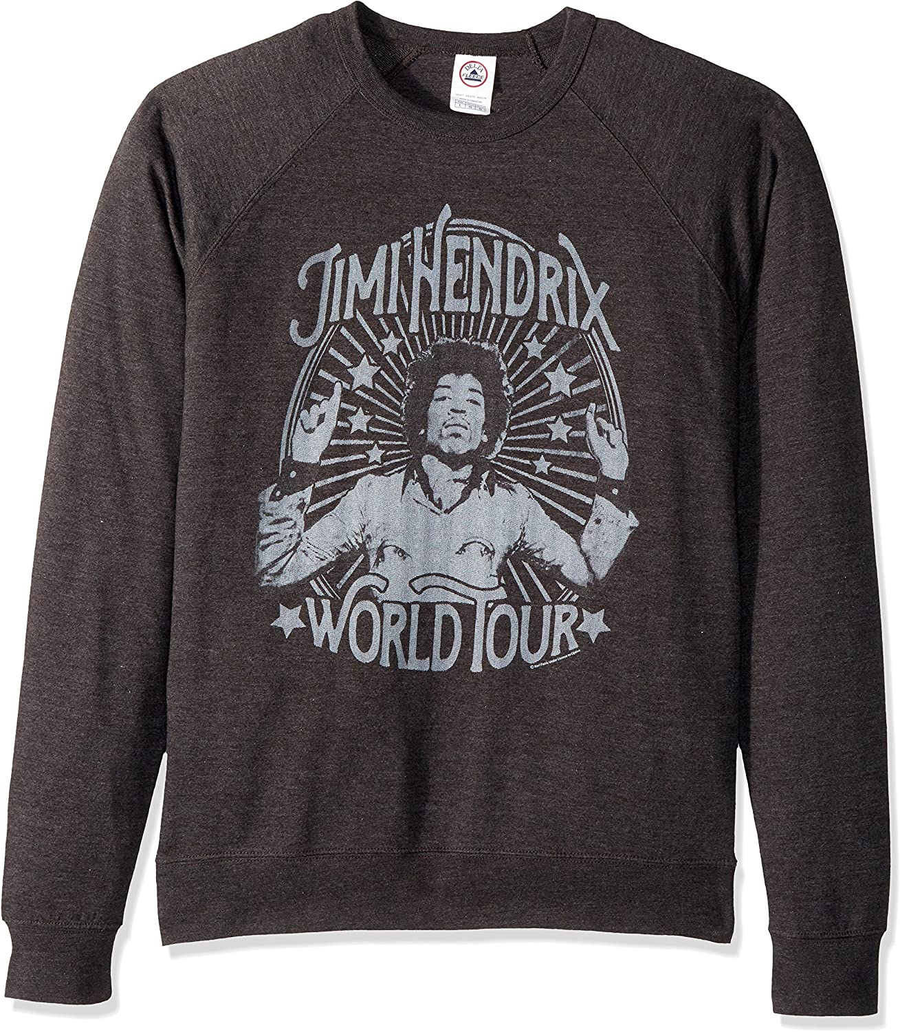TALLA S. American Classics Jimi Hendrix World Tour Adult Short Sleeve T-Shirt-Camiseta Unisex Adulto Opaco