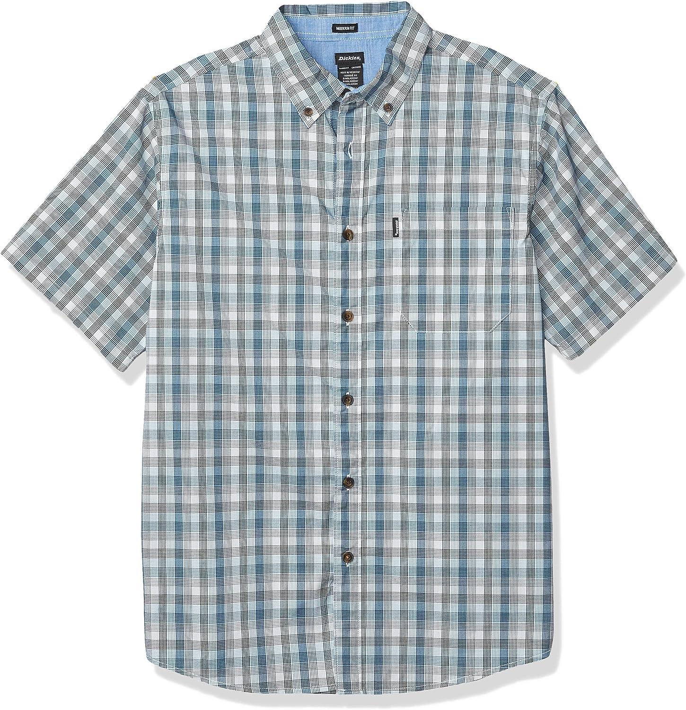 Dickies Short Sleeve Flex Shirt Camisa con Cuello Abotonado para Hombre: Amazon.es: Ropa y accesorios