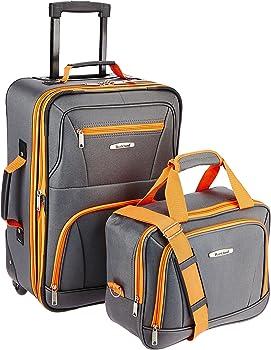 Rockland Luggage 2 Piece Set One Size