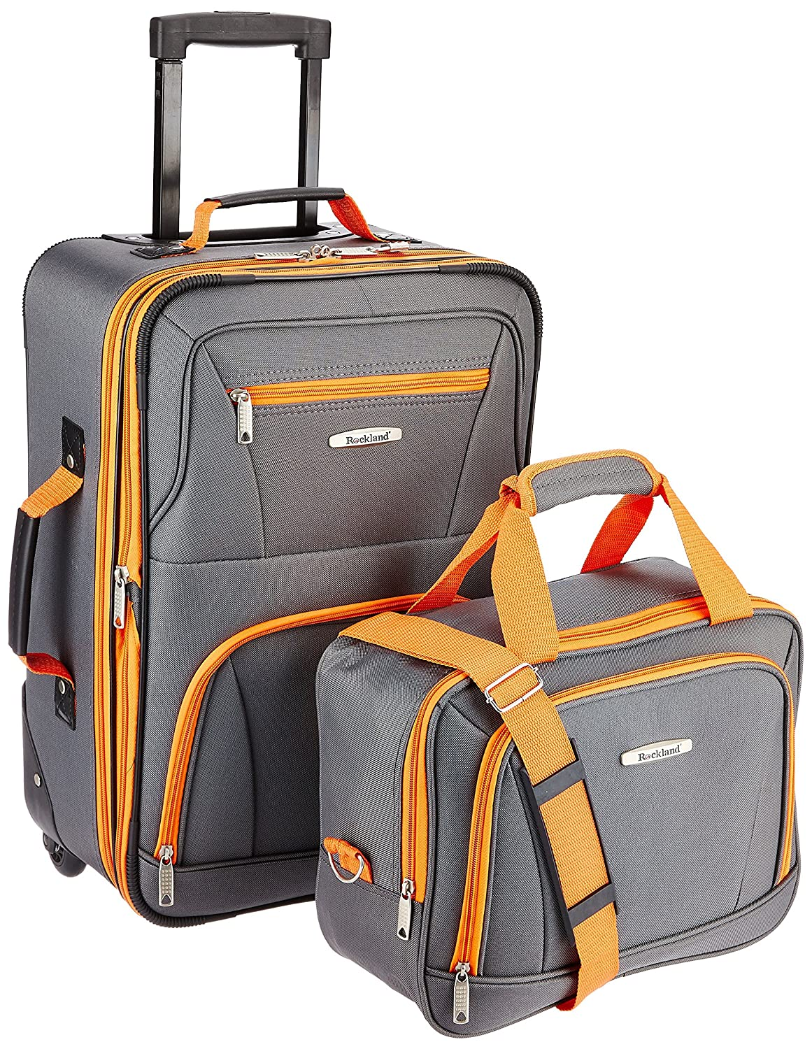 Rockland Two Piece Carry On Cases