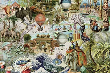 buy ravensburger puzzles oceania multi color 3000 pieces online